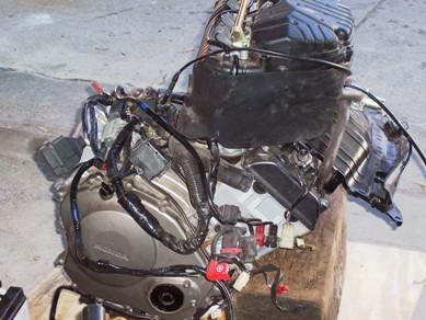 honda cbr 1000 rr 2005 engine complete kit motorcycle. Black Bedroom Furniture Sets. Home Design Ideas